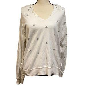 Vintage Havana White Star Sweatshirt Hoodie
